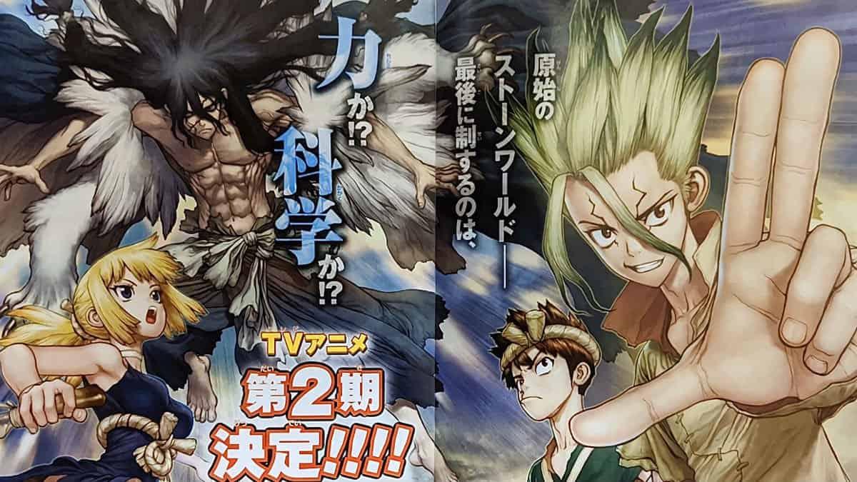 Weekly Shonen Jump announces Dr. STONE Season 2