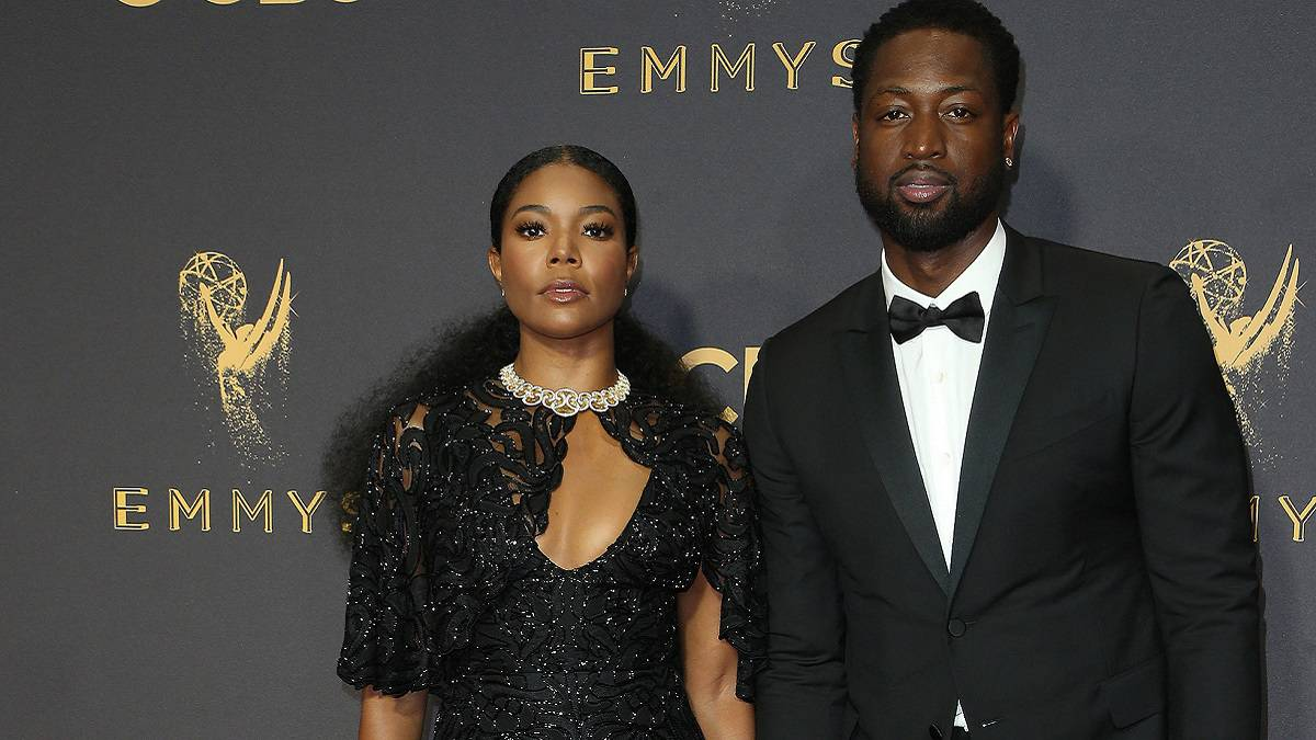 Dwayne Wade and wife Gabrielle Union
