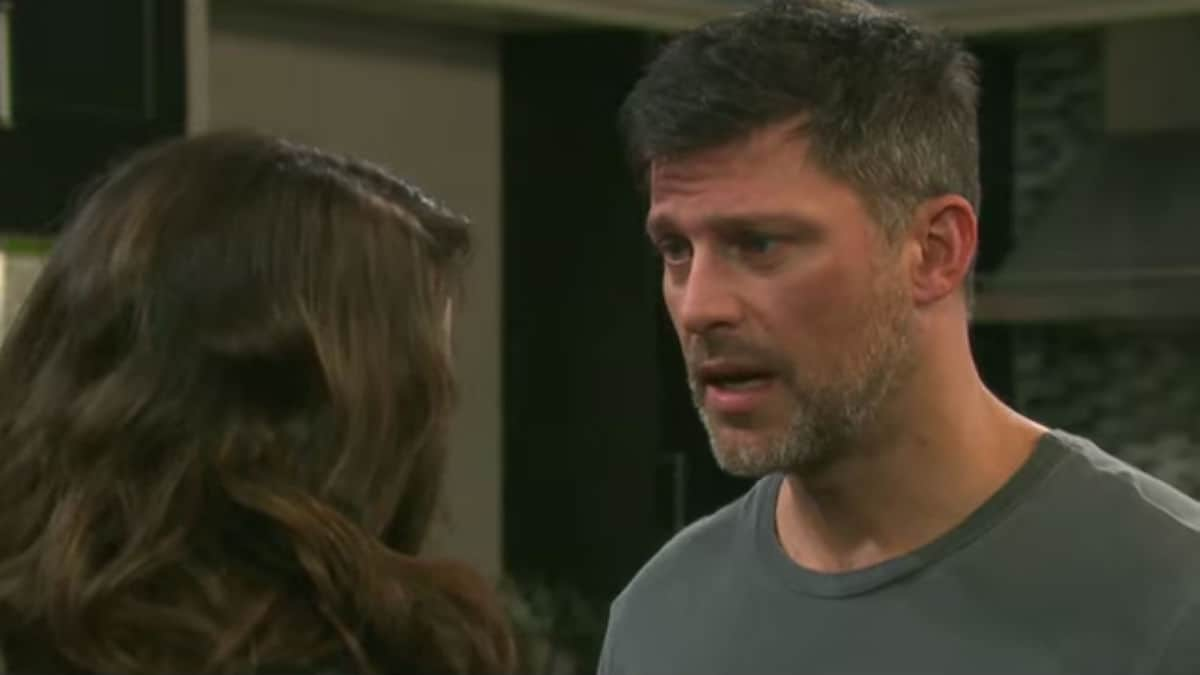 Greg Vaughan and Linsey Godfrey as Eric and Sarah on Days of our Lives.