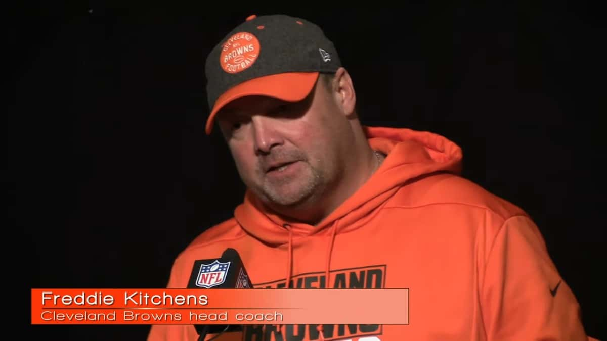 Cleveland Browns fire Freddie Kitchens as head coach