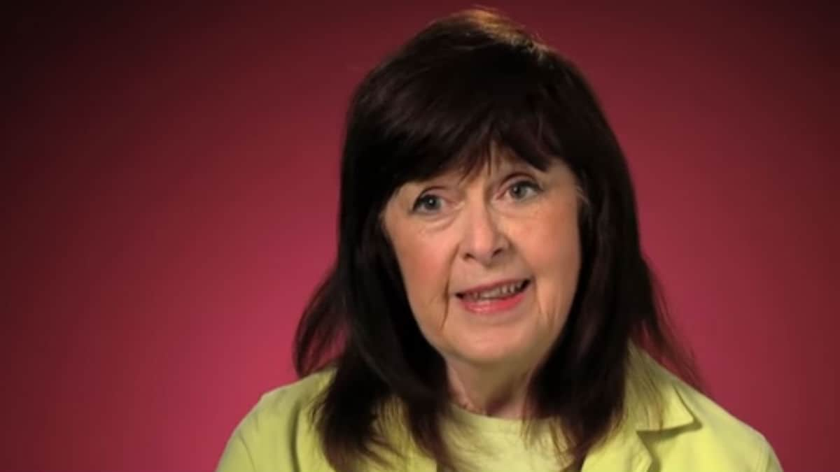 Grandma Mary Duggar during a 19 Kids and Counting confessional.
