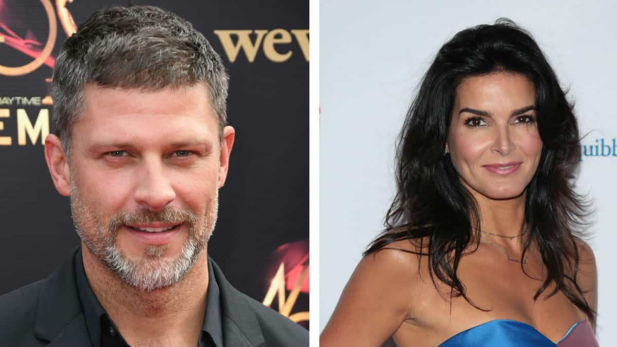 Greg Vaughan and Angie Harmon are engaged.