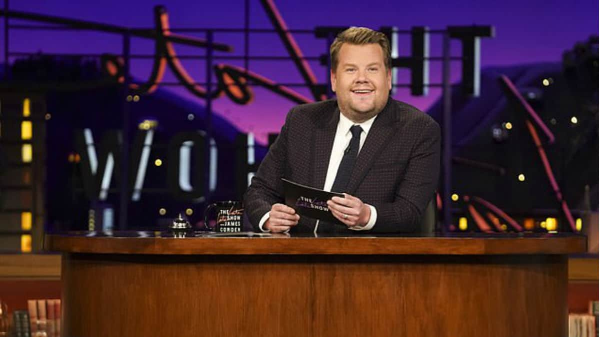 Why is James Corden missing from his CBS talk show?