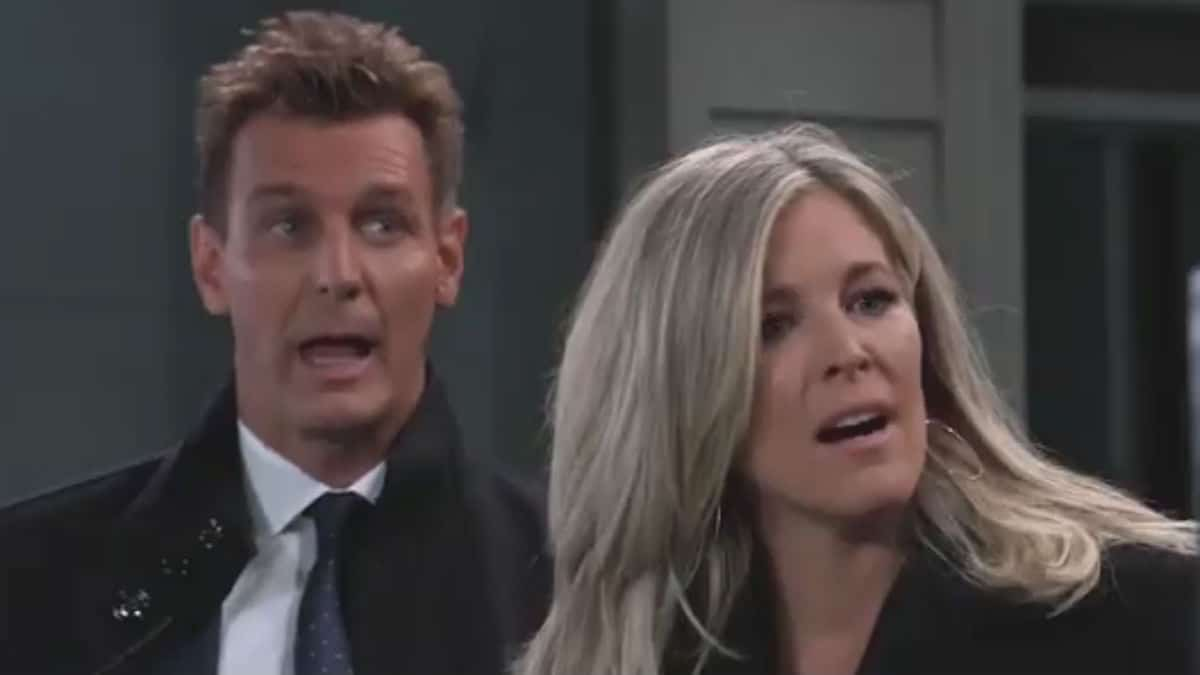 Jax and Carly are stunned on General Hospital.