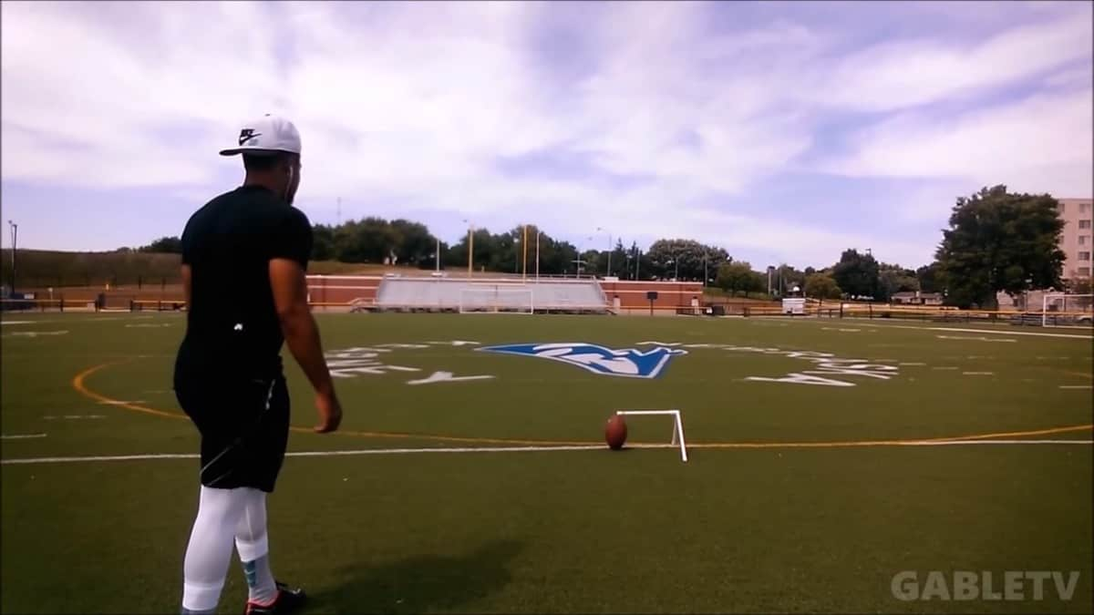 New England Patriots sign trick shot kicker Josh Gable