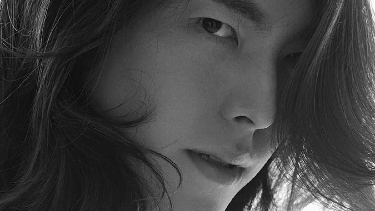 Kim Woo-Bin with long hair