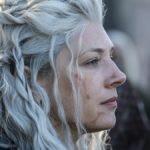 Katheryn Winnick as an aged and battle-worn Lagertha in Vikings