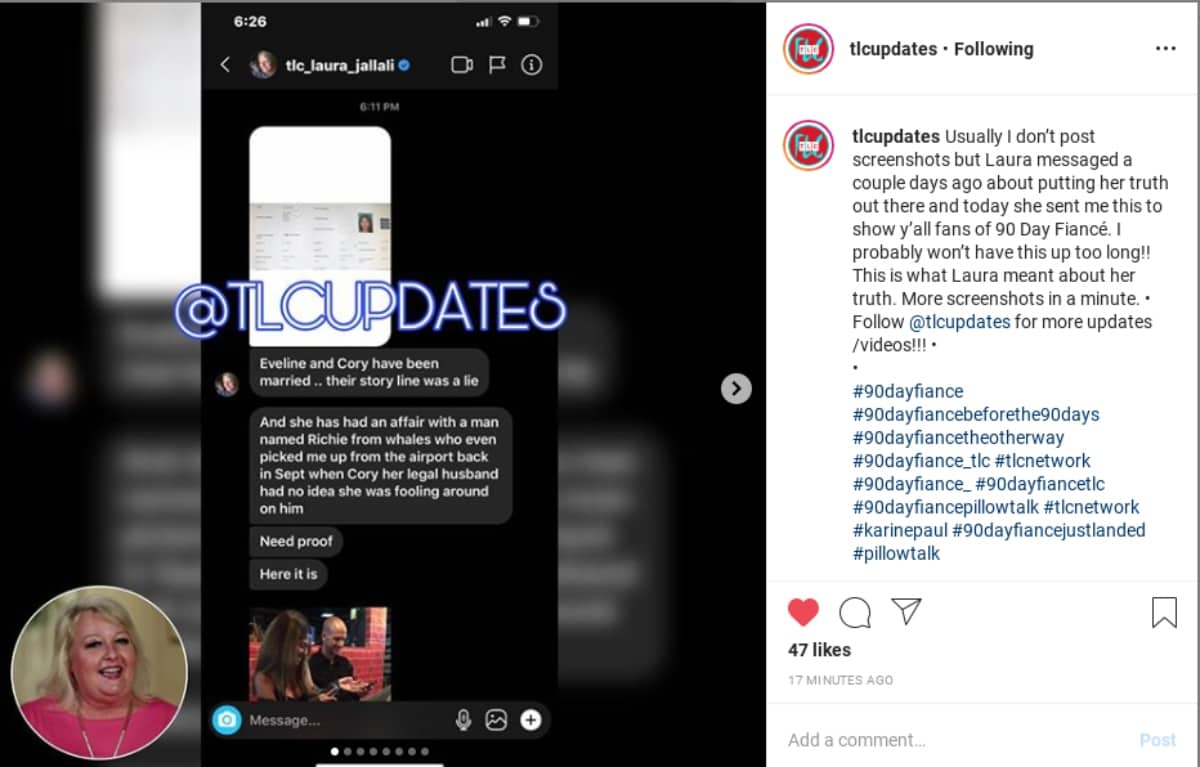 Laura Jallali's claims against Evelin Villegas