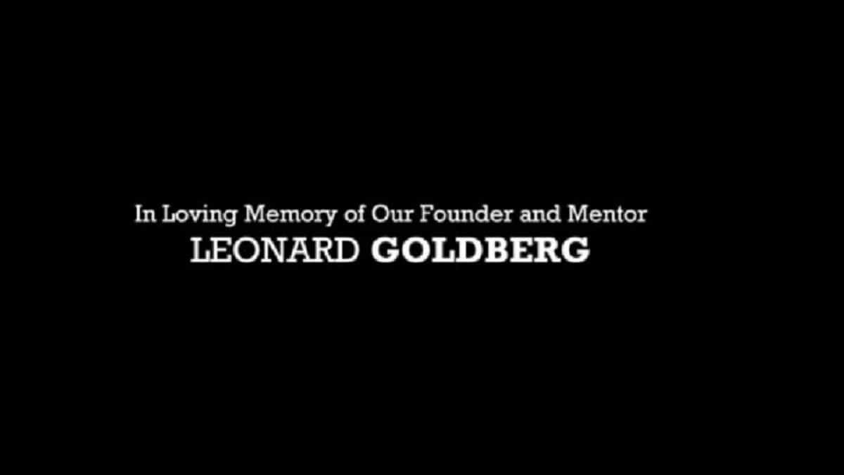 The tribute to Blue Bloods EP Leonard Goldberg