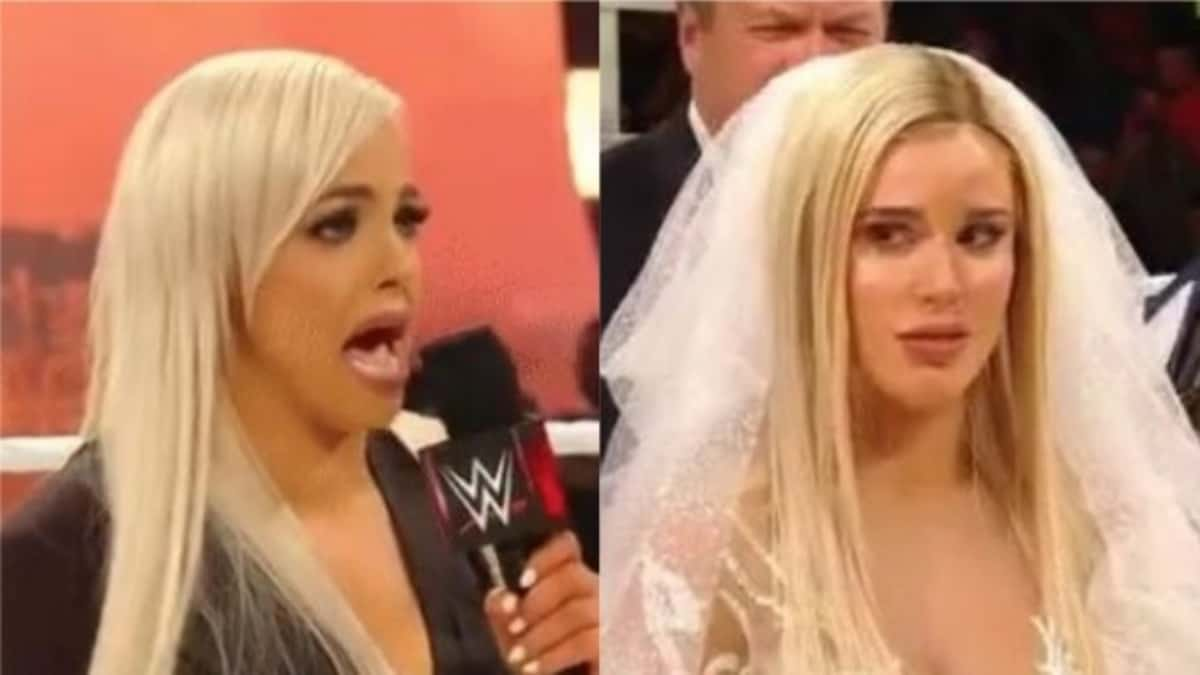 Bobby Lashley and Lana wedding on WWE Raw ends with lesbian angle with Liv Morgan