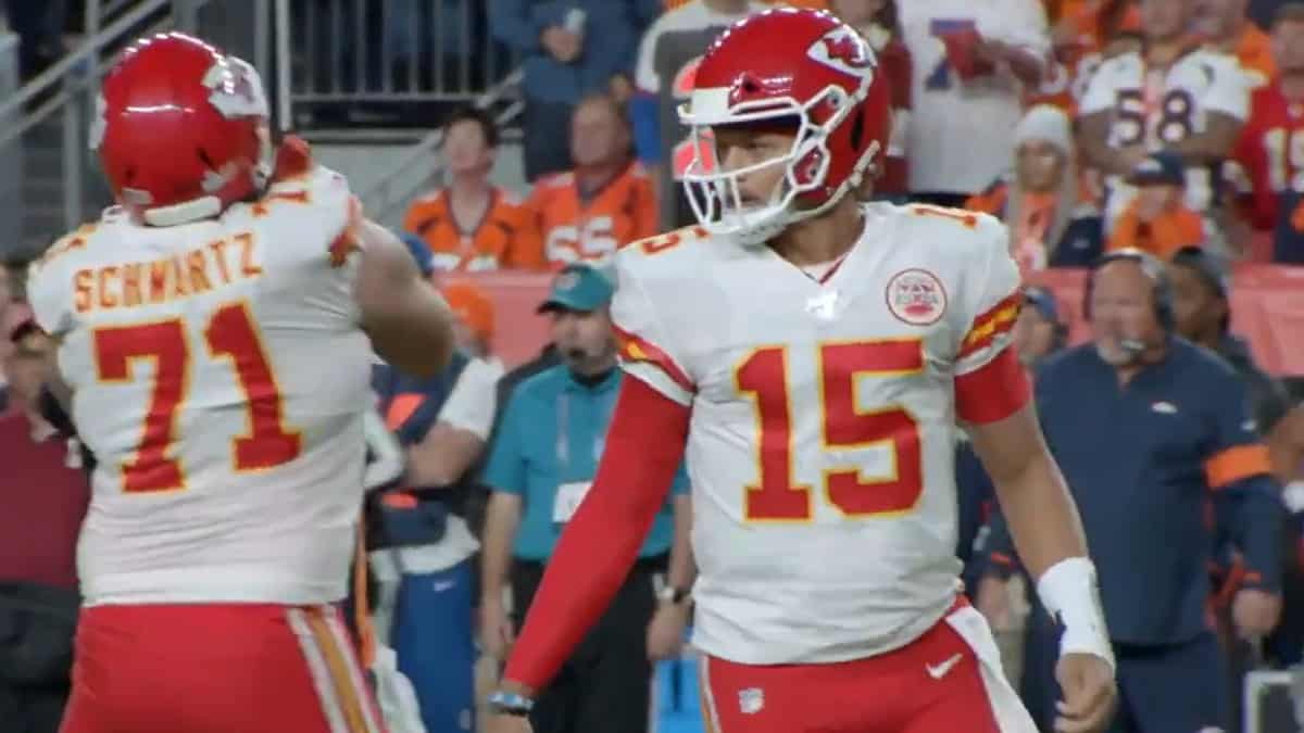 Mahomes For Chiefs