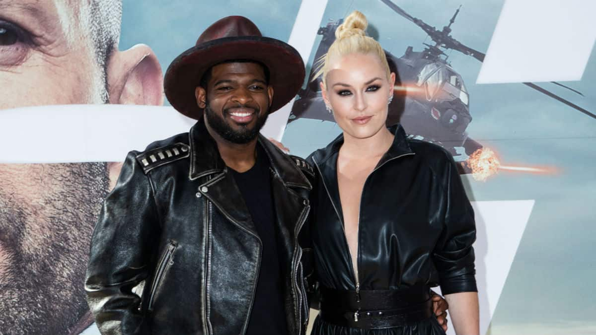 Lindsey Vonn proposed to fiance' P.K. Subban and gave him his own engagement ring too.