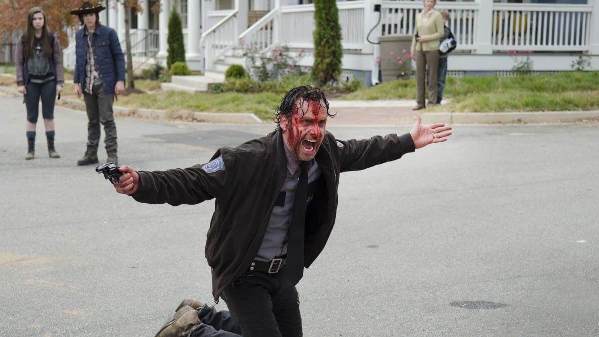 Rick on TWD