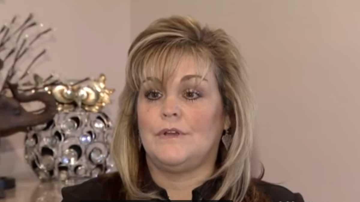 Cheryl Pierson Cuccio addresses the camera