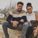 Tristan Thompson and his fiance Rachel Ashley