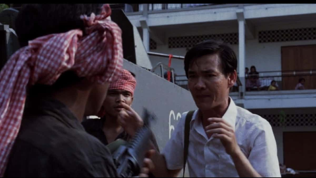 Dr. Haing Ngor in movie The Killing Fields