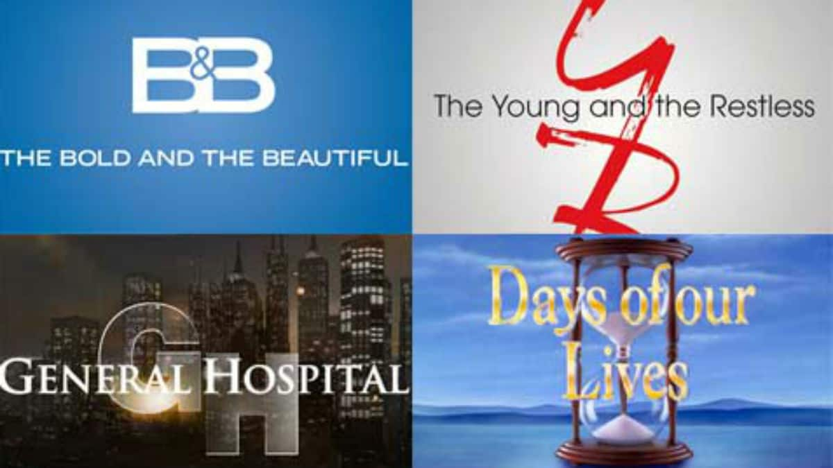 Holiday schedule for all four soap opera.