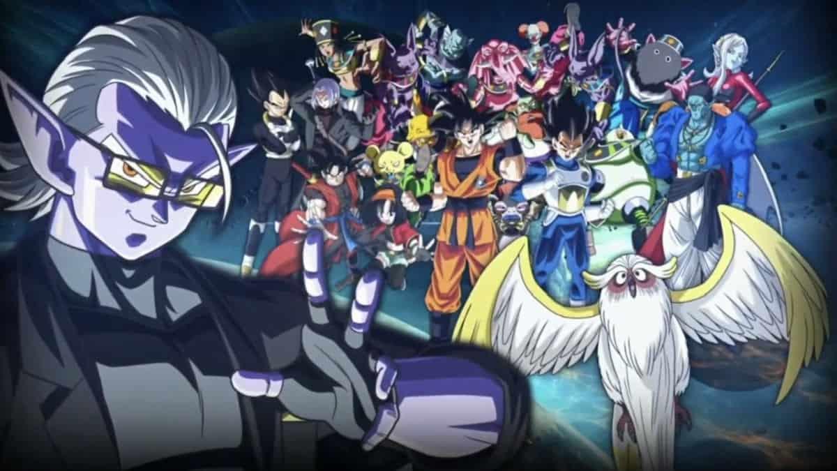 Super Dragon Ball Heroes key art