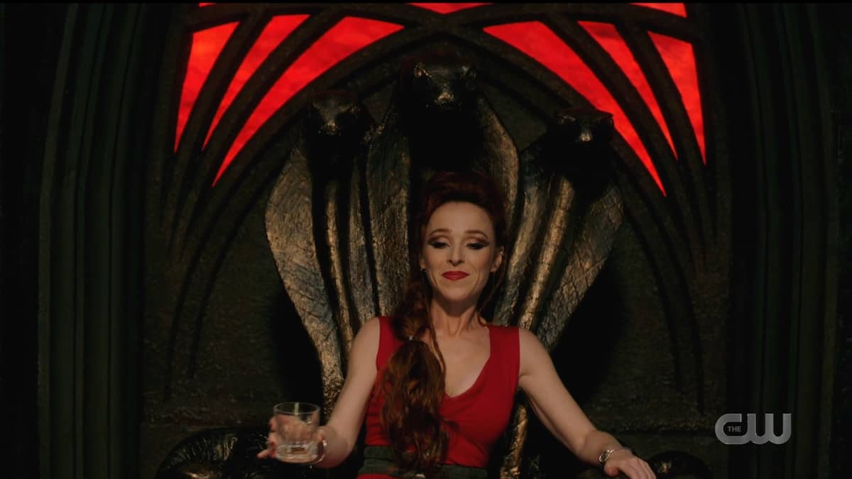 Rowena is the new Queen of Hell. Pic credit: The CW