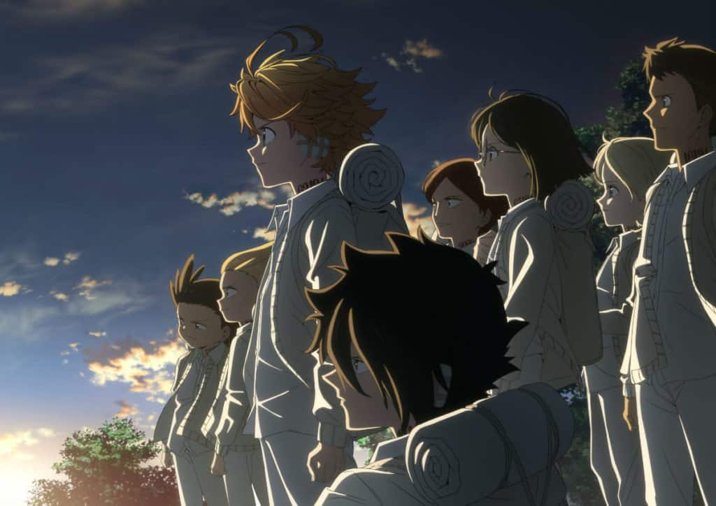 The Promised Neverland Season 2 Key Visual