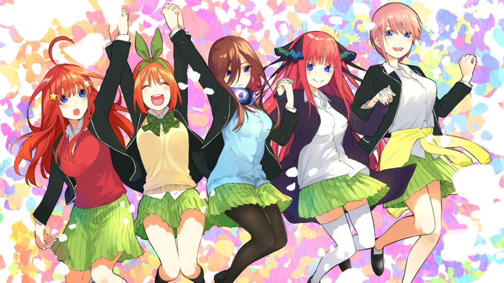 The Quintessential Quintuplets artwork