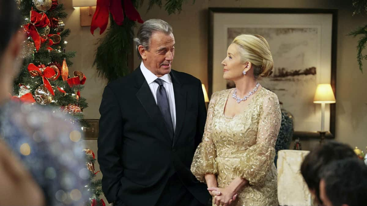 It is Christmas time on The Young and the Restless.