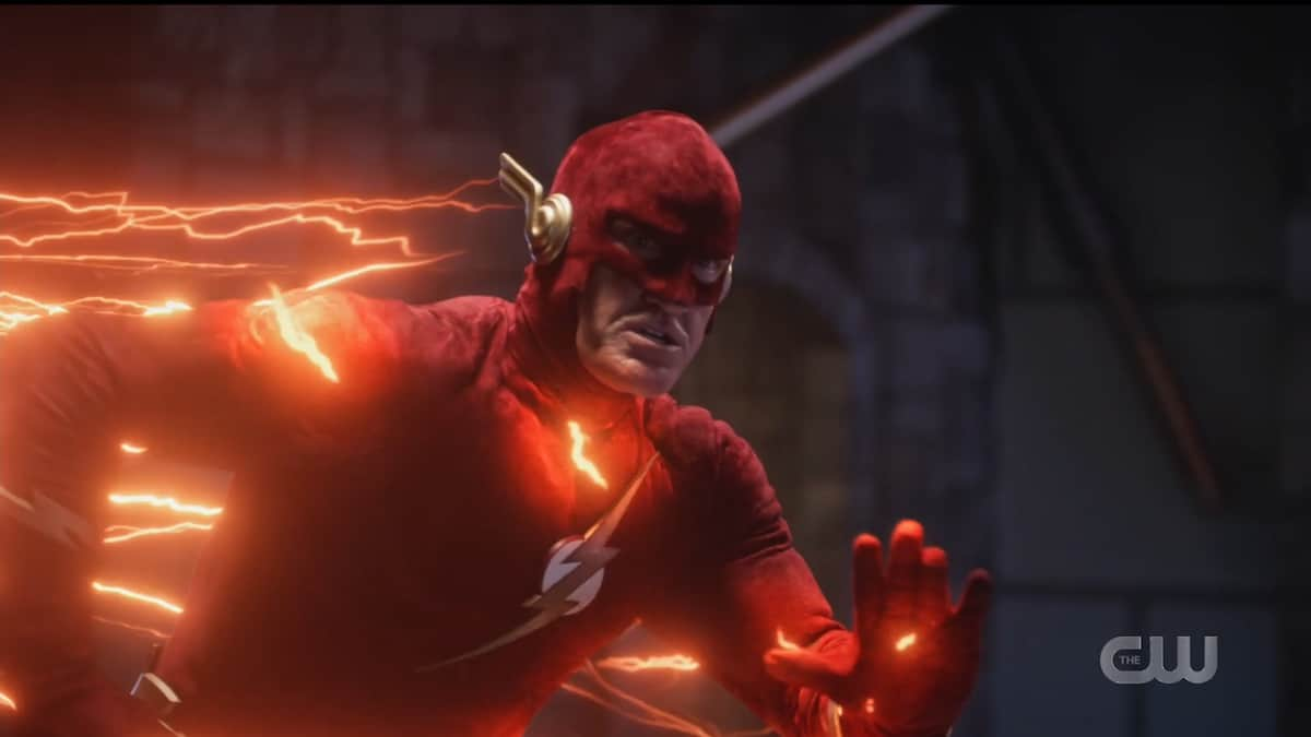 John Wesley Shipp as the Barry Allen from Earth-90. Pic credit: The CW