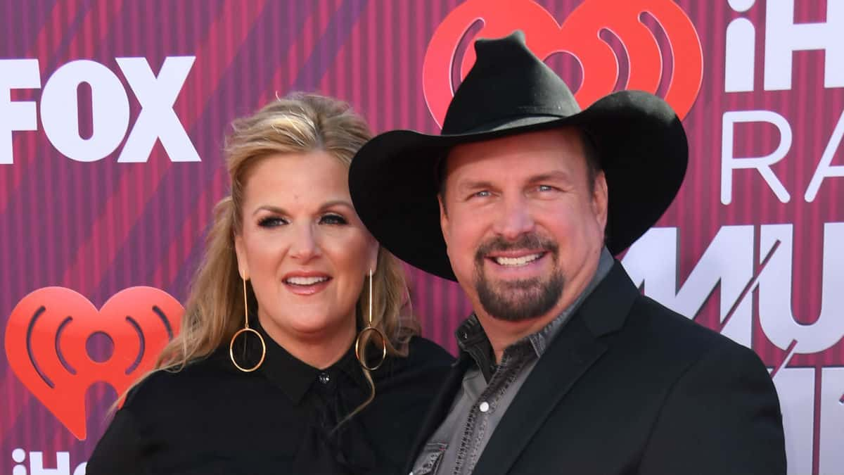 Trisha Yearwood reveals holiday traditions with Garth brooks.