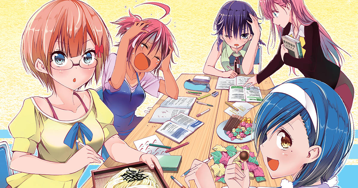 We Never Learn Bokuben Manga Girls