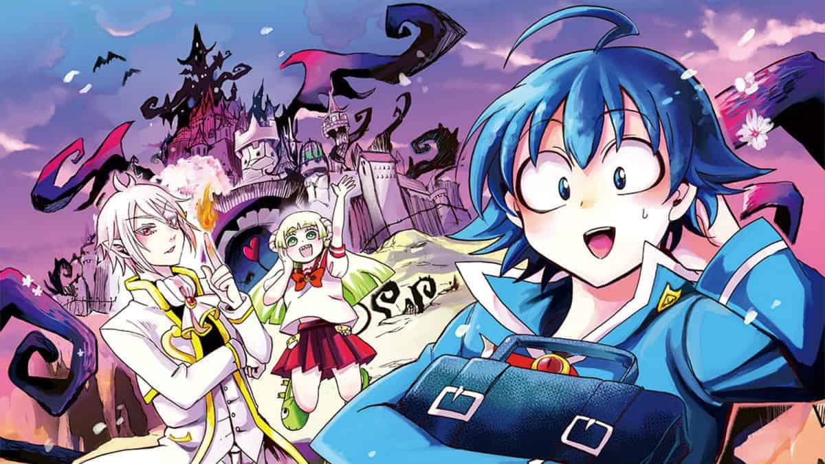 Welcome to Demon School! Iruma-kun key art