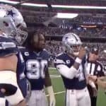 dallas cowboys dak prescott doesnt defer coin toss properly