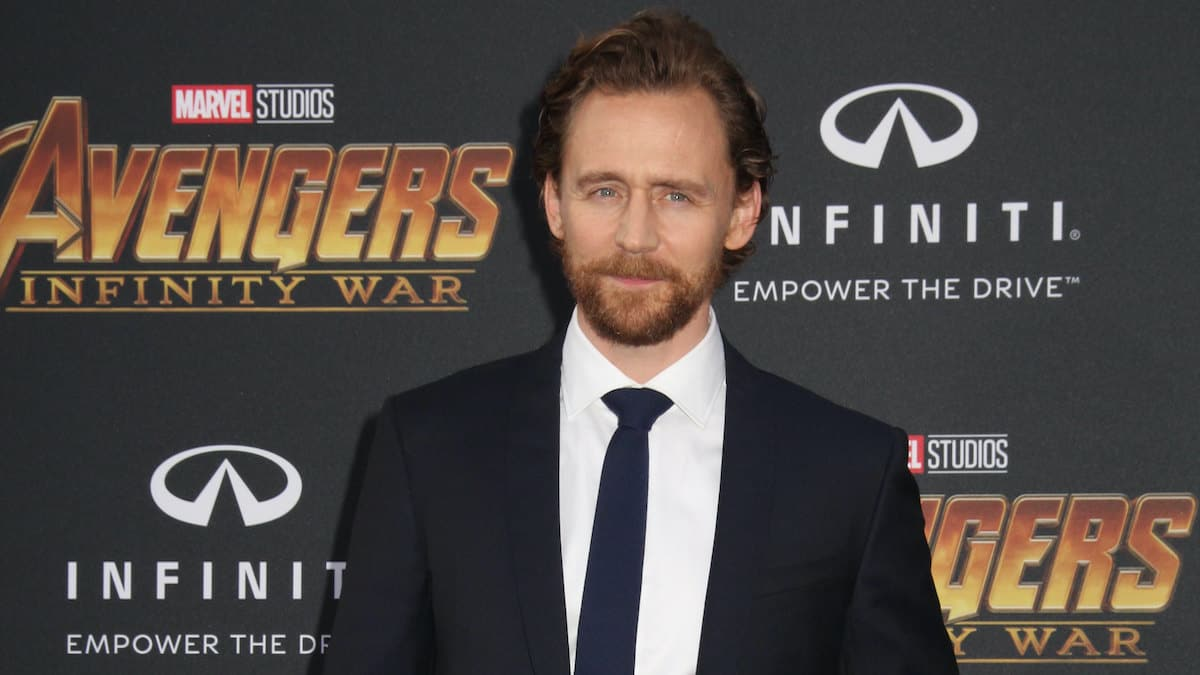 tom hiddleston at premiere of avengers infinity war