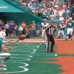 miami dolphins trick play involves matt haack jason sanders TD