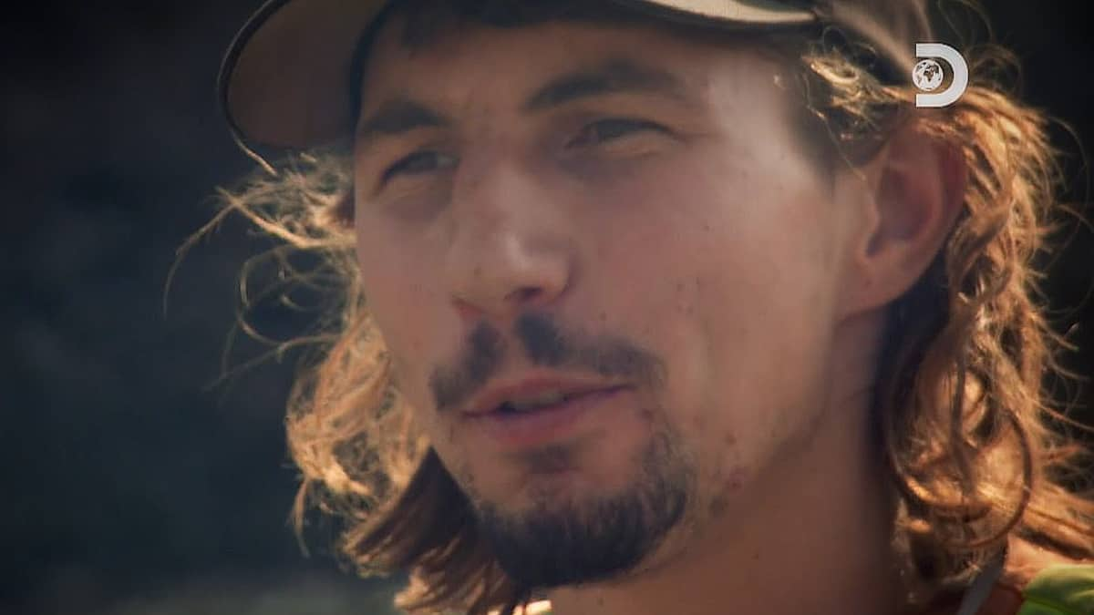 Parker Schnabel is not winning any new friends this week on Gold Rush. Pic credit: Discovery