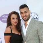 Britney Spears and Sam Asghari at the 2019 Daytime Beauty Awards in LA