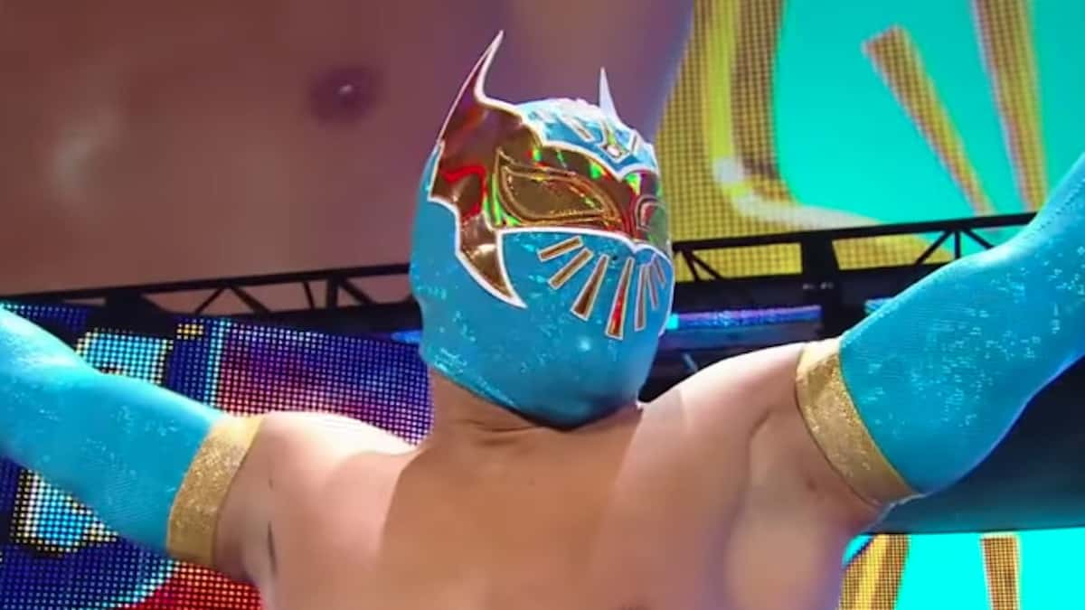 sin cara announced his official release from wwe