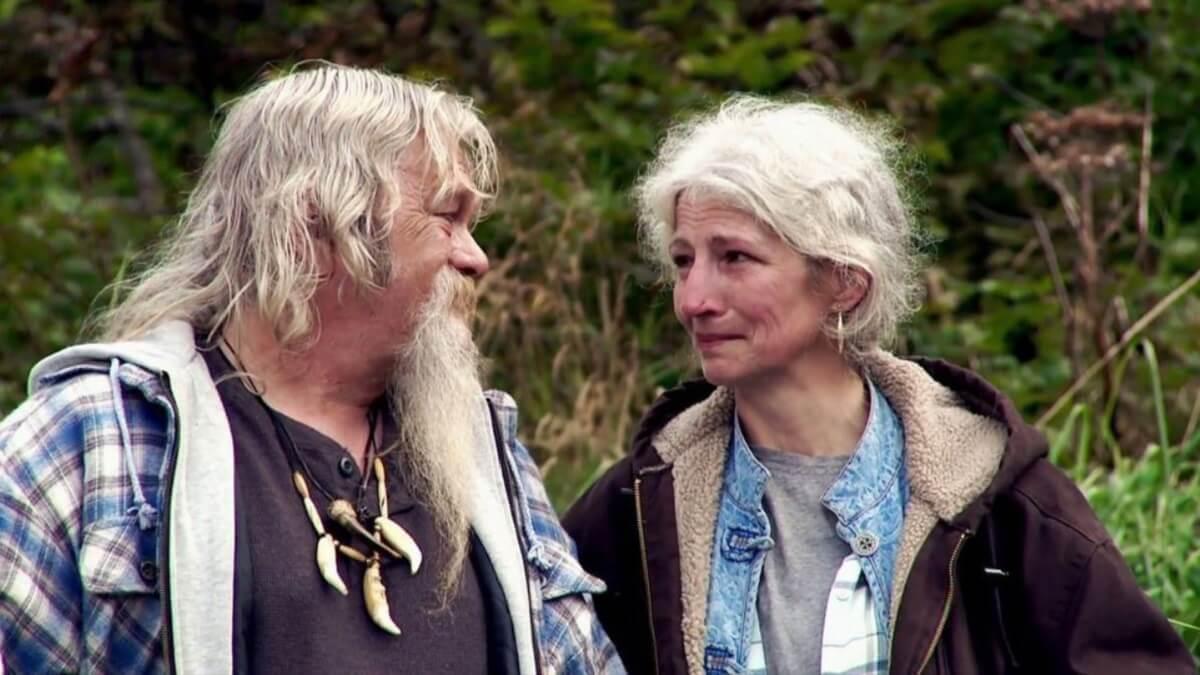 Alaskan Bush People's Billy and Ami Brown