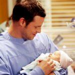 Alex Karev baby