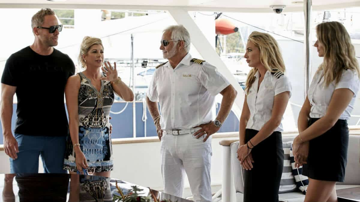RHOC alum Alexis Bellino takes a trip on the Valor on Below Deck.