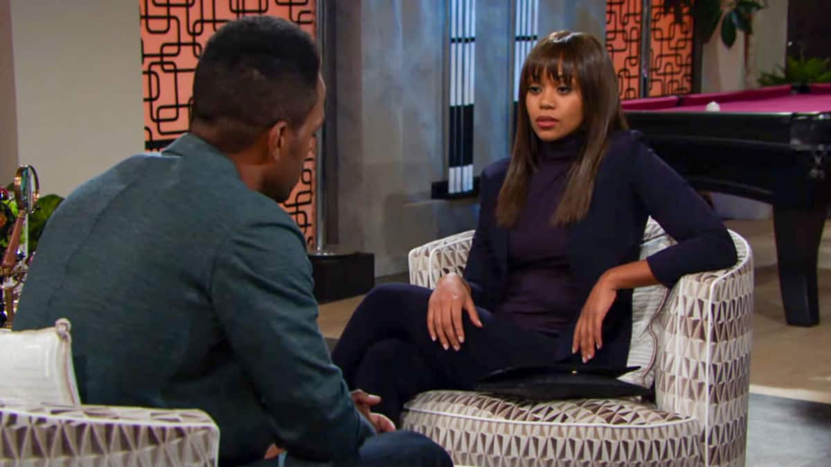 The Young and the Restless spoilers tease trouble for Amanda.