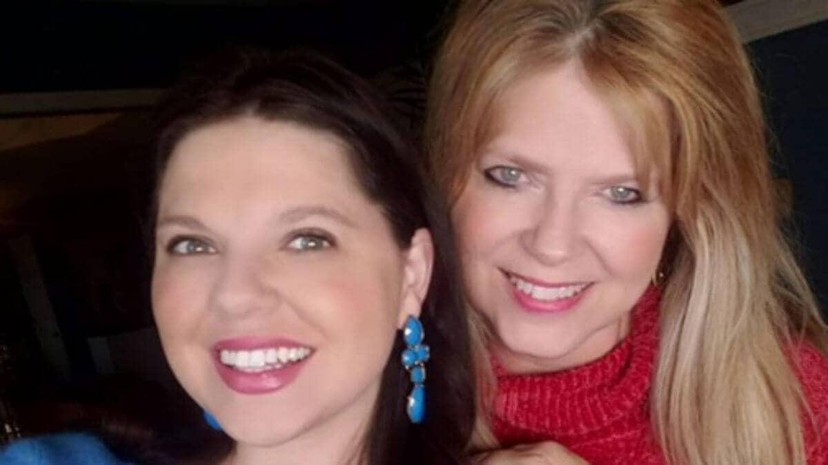 Amy Duggar King and her mom Deanna Duggar.