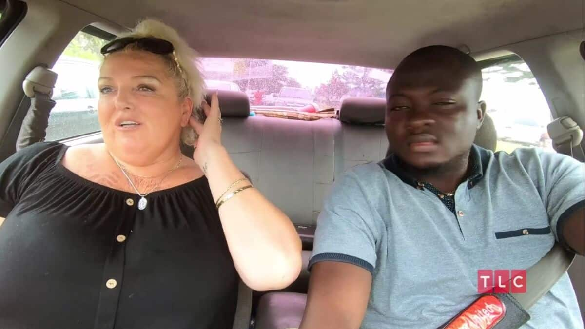 Angela Deem and Michael Ilesanmi on 90 Day Fiance