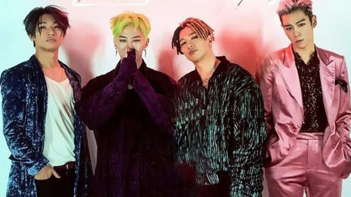 Big Bang -- Four Members