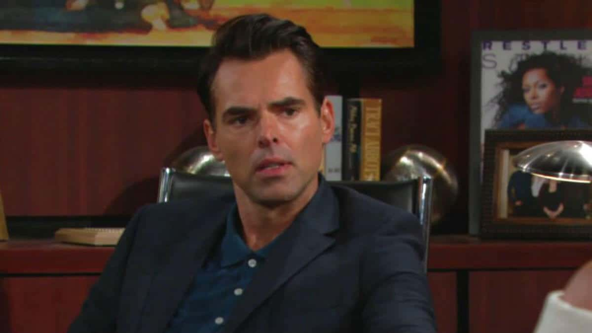 The Young and the Restless Billy is headed down a dark path.