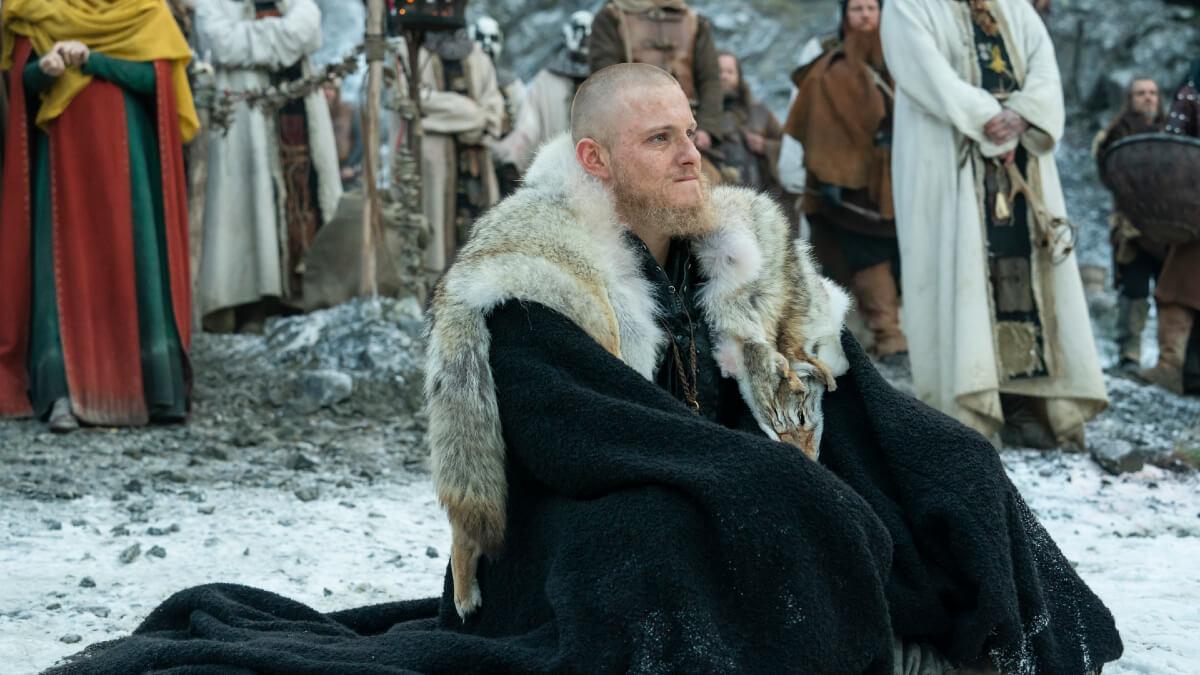 Alexander Ludwig stars as Bjorn Ironside