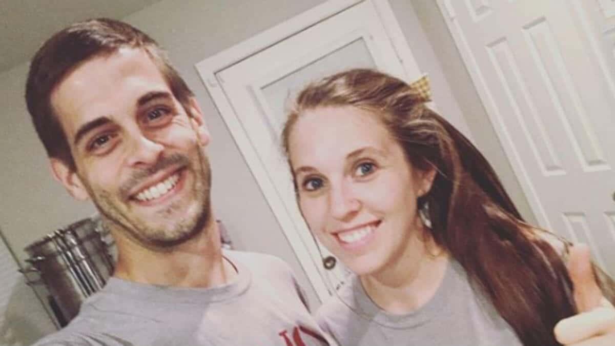 Derick Dillard and Jill Duggar selfie.