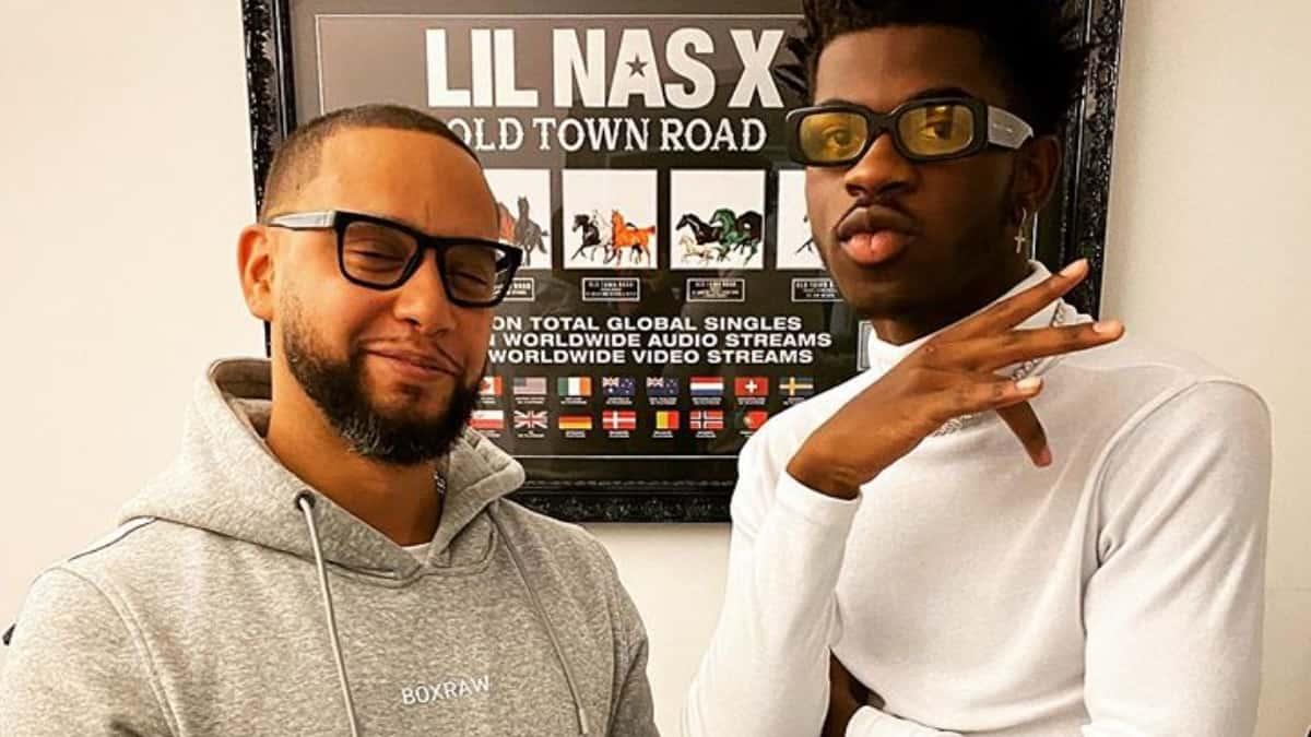Director X alongside Lil Nas X
