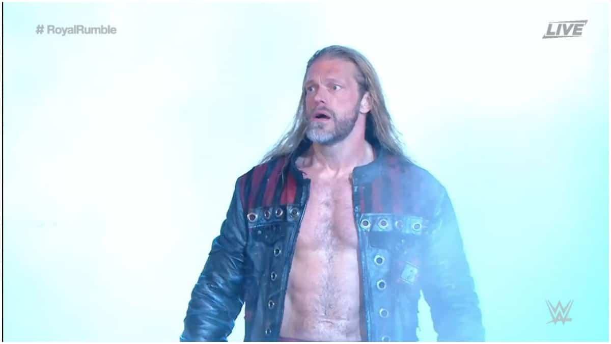 Edge makes shocking WWE return at 2020 Royal Rumble