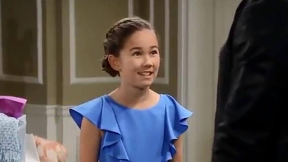 Brooklyn Rae Silzer as Emma on General Hospital.