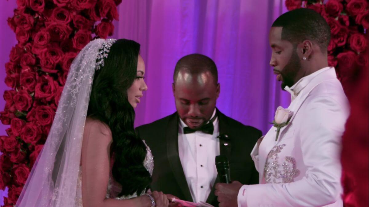 Erica Mena and Safaree Samuels on Love & Hip Hop New York